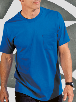 PC61P - Port & Co. Cotton T-shirt with Pocket