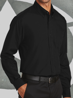 S632 - Port Authority® Long Sleeve Value Poplin Shirt