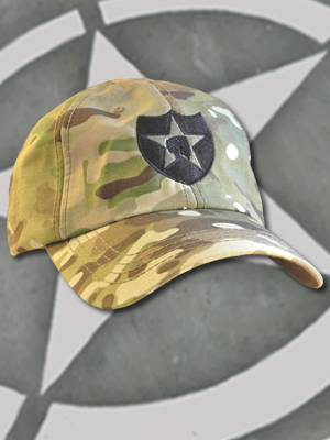 TCT-008-Emblem015 - SpartanCap -2nd Infantry Div (#015) -Tactical Team Cap Multicam