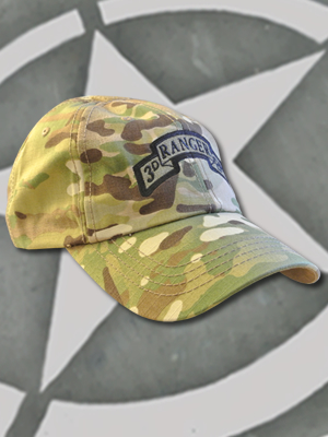 TCT-008-Emblem030 - SpartanCap -3rd Ranger Battalion (#030) -Tactical Team Cap Multicam