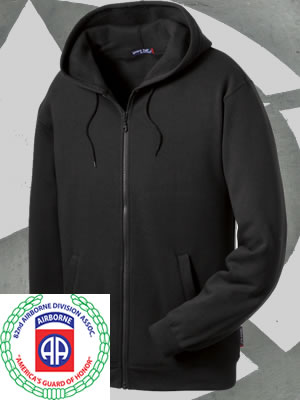 ST258-82ndABDA - Sport-Tek Full-Zip Hooded Sweatshirt