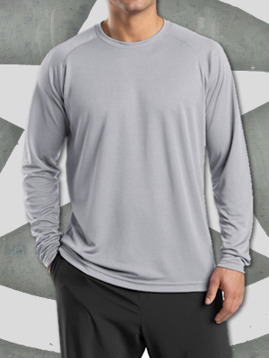 T473LS - Sport-Tek® Dry Zone® Long Sleeve Raglan T-Shirt