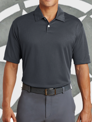 Nike Golf Dri-Fit Pebble Texture Sport Shirt