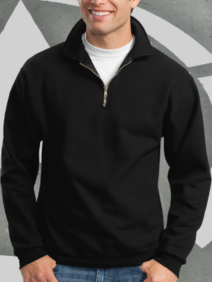 Jerzees SuperSweats 1/4 Zip Pullover - 4528M