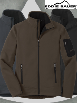 Eddie Bauer® Rugged Ripstop Soft Shell Jacket - EB534