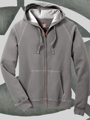 Hanes® Nano Full-Zip Hooded Sweatshirt - HN280