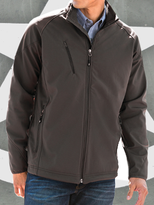 Port Authority Textured Soft Shell Jackets - J705
