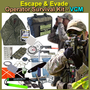 Escape & Evade Operator Survival Kit (VCM) - EEOMSK-VCM