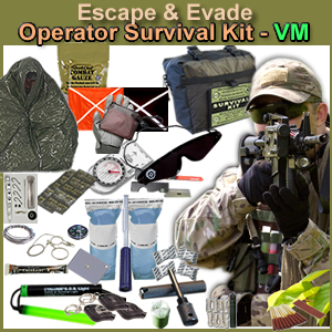 Escape & Evade Operator Military Survival Kit (VM)