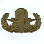 EOD Badge (Basic)(Subdued) - Item Number: P-12500S