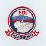 501st Geronimo Patch - Item Number: P-12900