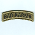 Bad Karma (Search & Rescue) Tab Patches - Item Number: P-13400