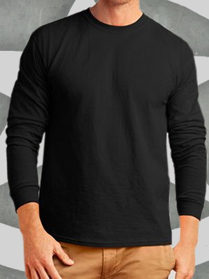 Port & Company® Pigment-Dyed Long Sleeve Tee