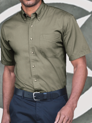 Port Authority Twill Shortsleeve Shirt - S500T