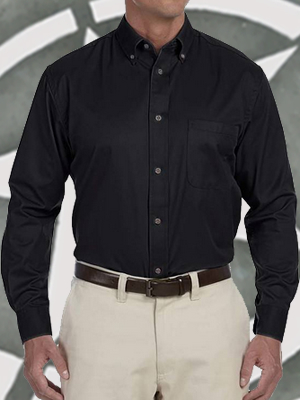 Port Authority Twill Longsleeve Shirt - S600T