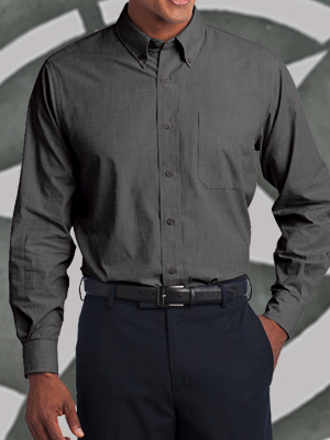 Port Authority® Crosshatch Easy Care Shirt - S640