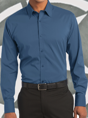 Port Authority® Stretch Poplin Shirt - S646