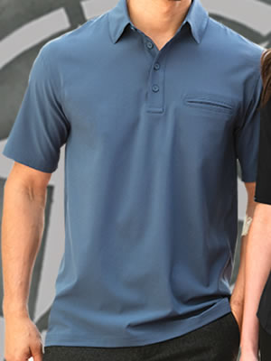 Port Authority® Ultra Stretch Pocket Polo