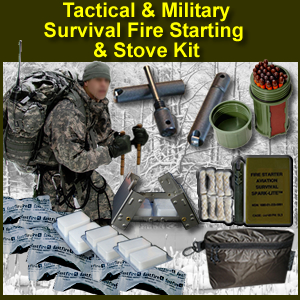 Tactical & Military Fire Starting & Stove Kit - tacticalfirekit